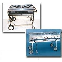 Smoke Hollow Combination Grill - Propane Gas, Charcoal and Smoker