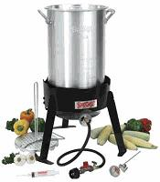 Lobster Steamer with Propane Cooker Base